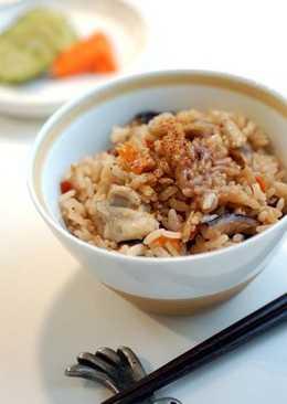 樁油飯(椿油ごはん)
