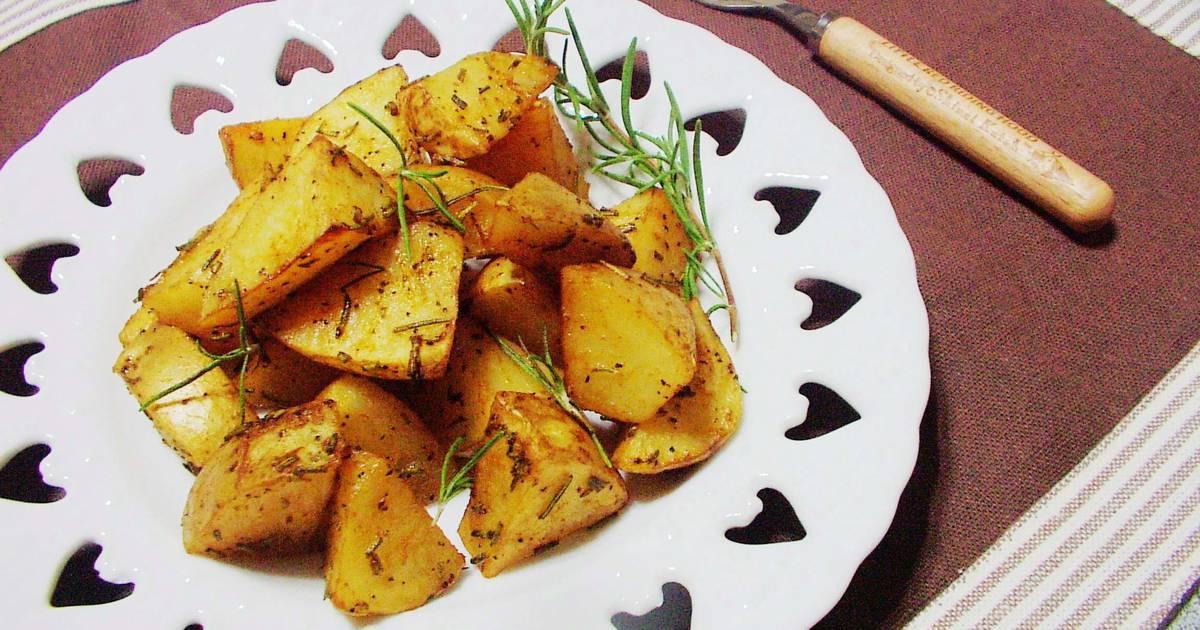 迷迭香烤馬鈴薯食譜 by 歐巴桑的快樂廚房