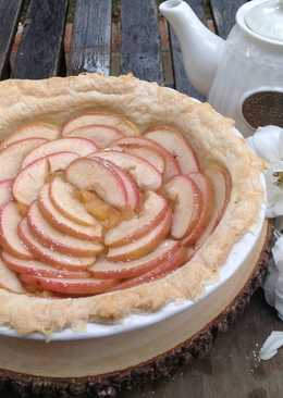 Apple Rose Pie Pastry-玫瑰蘋果酥皮派♥!