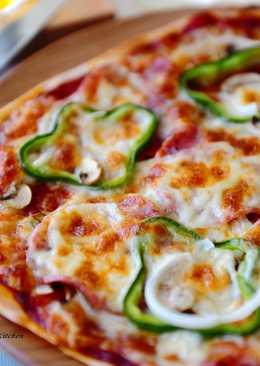 薄脆義式臘腸披薩