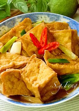 滷油豆腐(電鍋版)