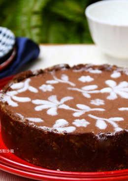 白蘭地巧克力乳酪塔~免烤箱