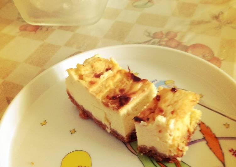 [小烤箱食譜] 起司蛋糕