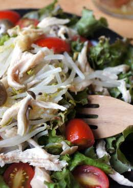 銀芽雞肉薑泥沙拉