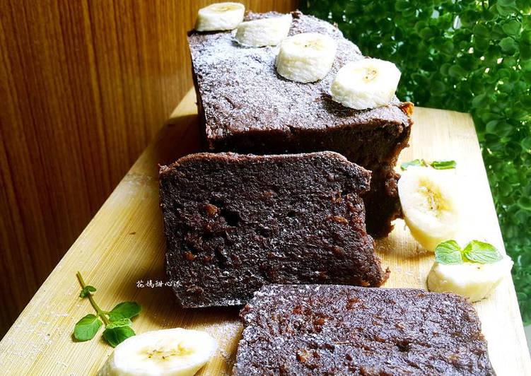 黑糖香蕉可可蛋糕
