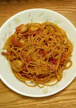 和風醬油義大利麵