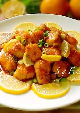 蜂蜜檸檬雞肉