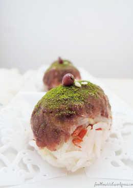 日式红豆泥饭团