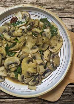 羅勒炒菇菇