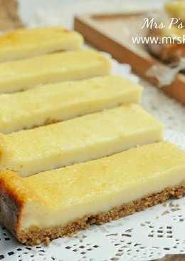 重乳酪蛋糕條 【免機器】