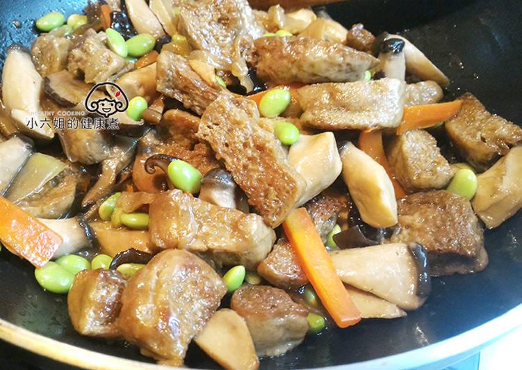 [年菜料理]紅燒烤麩 免油炸