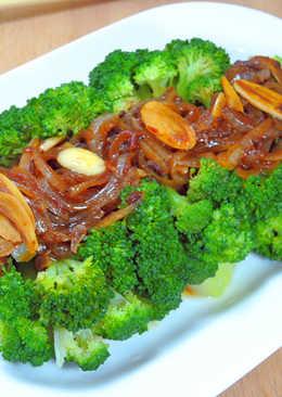 洋蔥炸醬花椰菜
