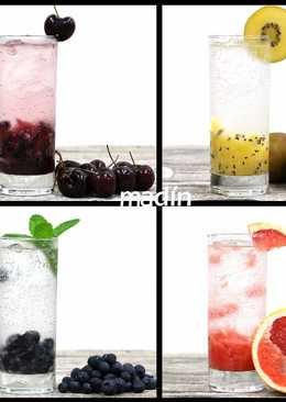 水果氣泡飲