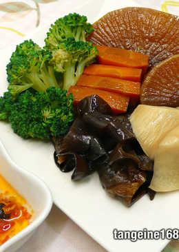 冷滷蔬菜&木耳 ★消脂降膽固醇7★