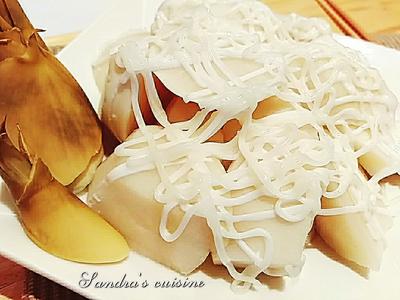 涼筍沙拉(電鍋蒸法)