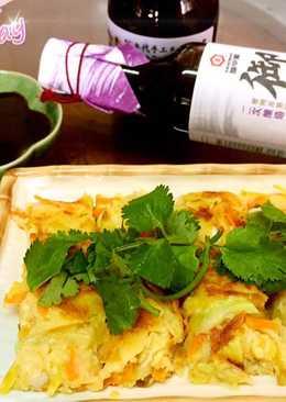 【御釀拌淋風味】地瓜蔬菜煎餅
