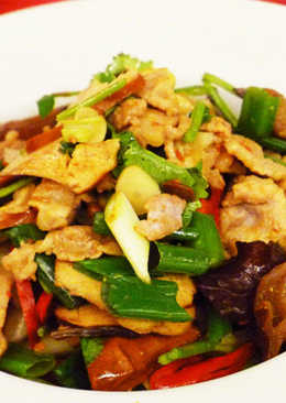 回鍋肉(豆油伯辣豆瓣醬食譜)