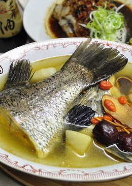 山藥鱸魚湯
