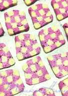 格子餅乾 (火龍果 薑黃 抹茶 蝶豆花 巧克力 )天然無色素 彩虹餅乾 減糖配方