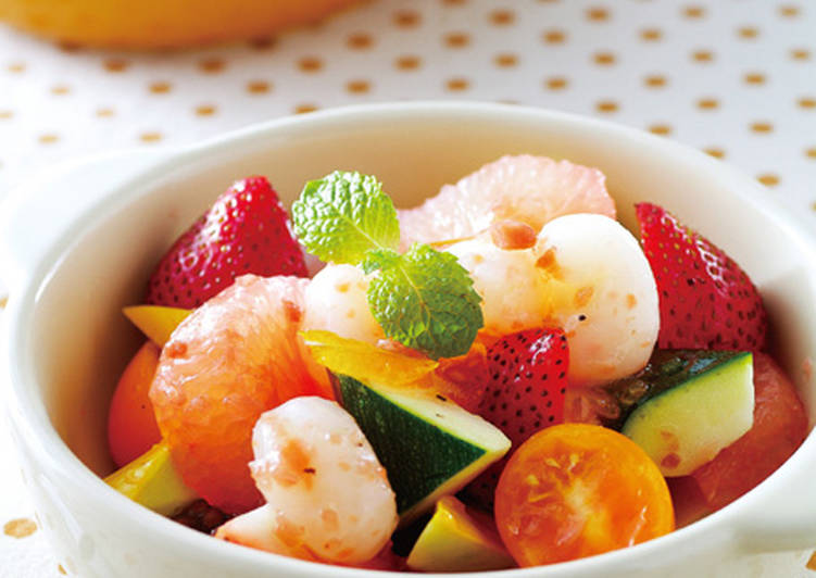 【家樂福廚房】香柚海鮮