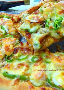 【源釀醬油】海鮮照燒 pizza