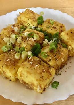 用水波爐做日式炸豆腐 簡單快速不油膩