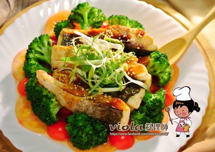 年菜料理-香煎魚片佐酸甜茄汁