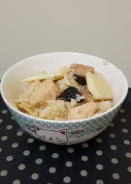 竹筍雞肉炊飯