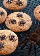 【萬聖節限定】巧克力豆蜘蛛餅乾