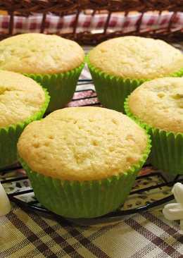 春蜜鳳梨杯子蛋糕