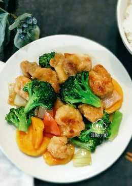 黑醋雞肉蔬食
