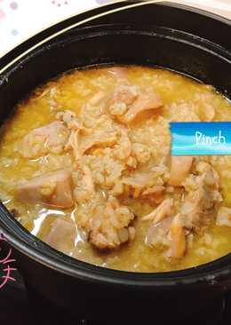 黃金排骨芋頭鹹粥