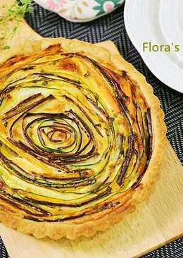 春天的法式蔬菜派