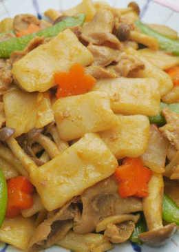 咖喱麵疙瘩