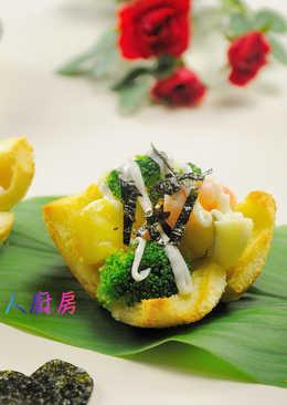 【海苔鮮蝦吐司杯】元本山