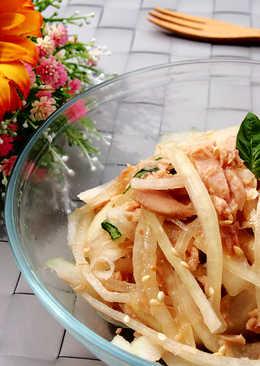 涼拌洋蔥鮪魚