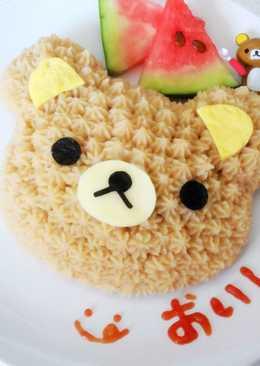 讓炒飯變好吃~【拉拉熊蛋糕飯飯】