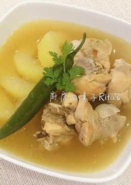 青木瓜雞湯 菲律賓Tinola