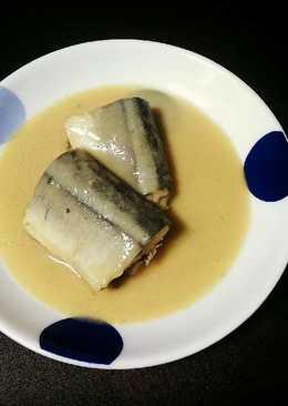 日式家庭料理 - 秋刀魚味噌煮