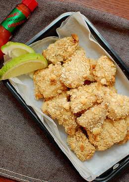 【偽炸雞】蘇打餅乾烤雞塊