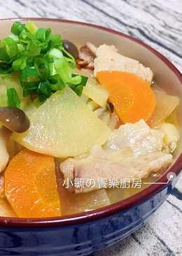 豬肉鮮菇味噌湯