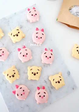 超萌迪士尼馬卡龍 ♥小熊維尼&粉紅豬