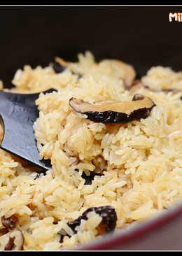 鑄鐵鍋之香菇油飯