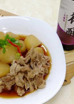 【御釀滷煮入味】和風滷蘿蔔