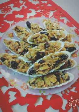 太妃杏仁船餅