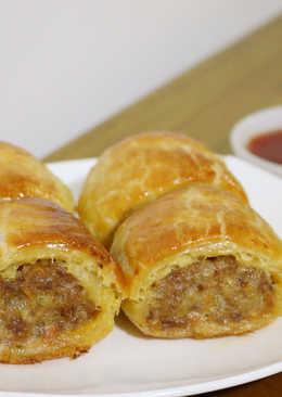 冷凍酥皮點心:肉捲-sausage rolls