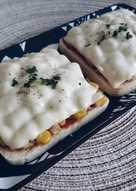鮪魚玉米吐司披薩