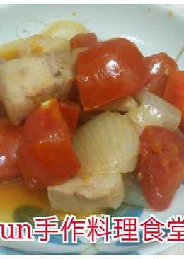 白酒蕃茄燉肉