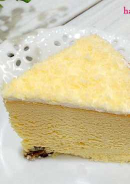 雪花輕乳酪蛋糕