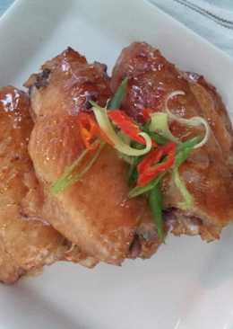 薑香檸蜜烤雞翅